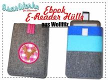 E-Reader-Hülle aus Wollfilz