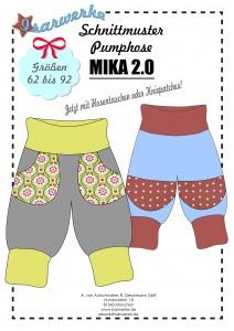 Papierschnittmuster Pumphose MIKA 2.0
